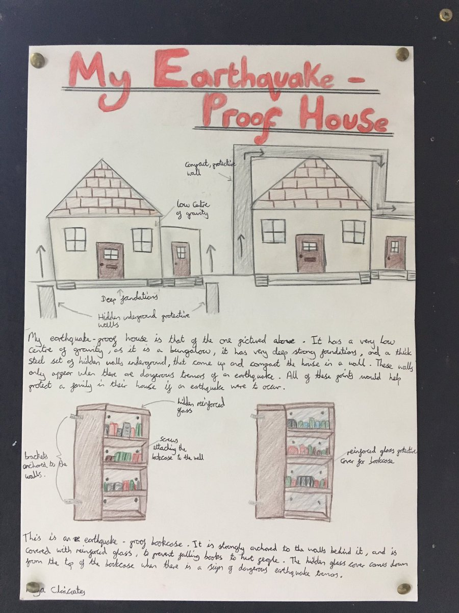 Earthquake Proof House >> Sjcr Geography Dept On Twitter More Great Earthquake Proof House
