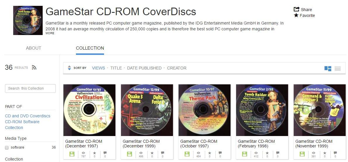 Nostalgie pur: 20 Jahre alte Gamestar-CDs sind bei https://t.co/69SnPewo2j als ISO verfügbar https://t.co/YtSG22rpEk https://t.co/PQTP8fMW7b