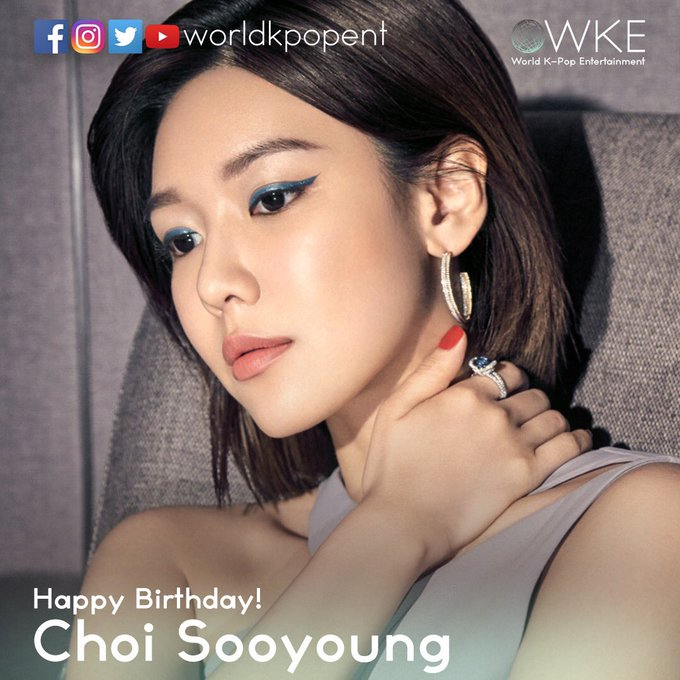 Happy Birthday Choi Sooyoung!