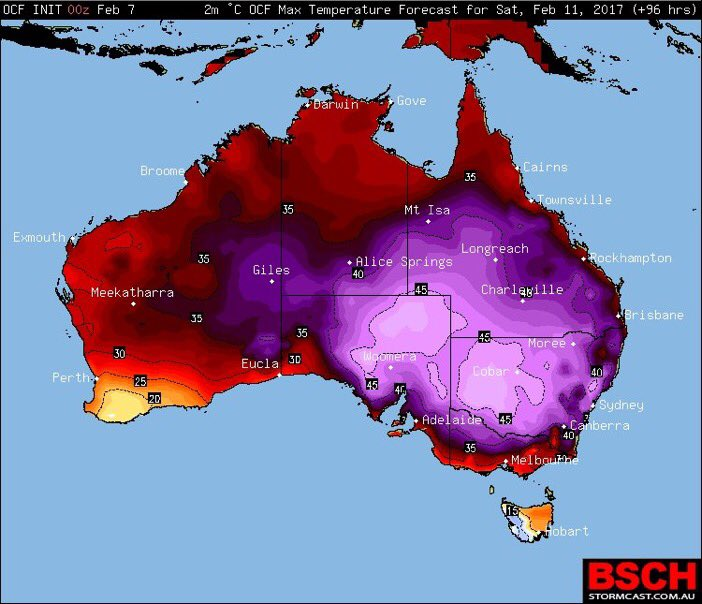 Map Of Australia 2017.Un Climate Change On Twitter A Few Years Ago Australia