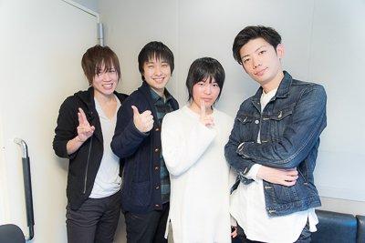 【ラジオ 315プロNight!】本日21時〜放送です! THE 虎牙道の3人に加え、ゲストに神楽麗…