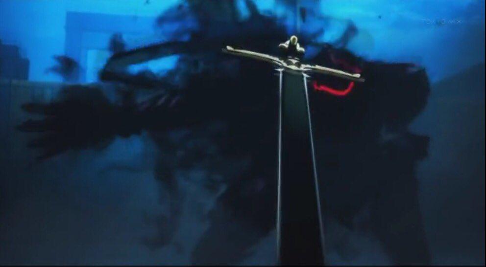 狂ランスロットのお返し これZEROのVS.ギルガメッシュで 1発目に飛んできた剣か