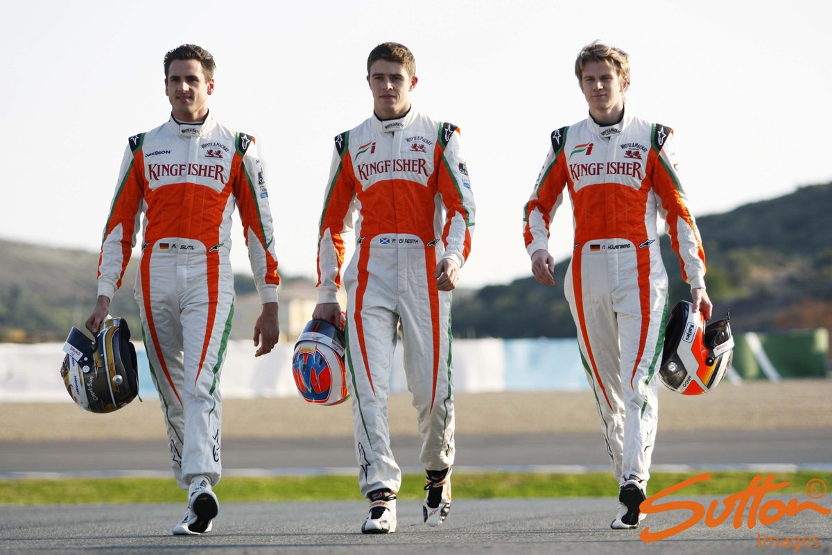 SportPesa Racing Point F1 Team Paul Di Resta Adrian Sutil And 3 Others