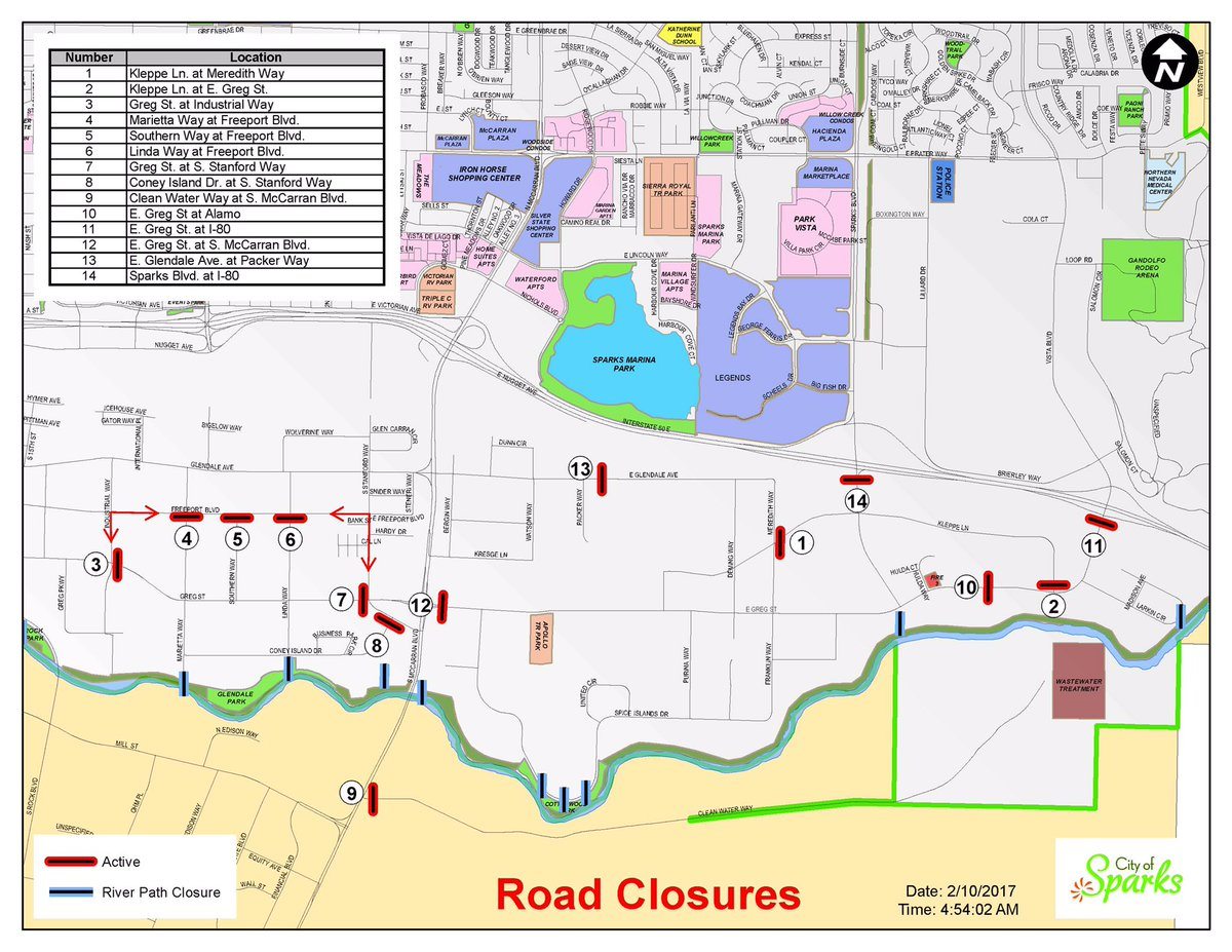 city of sparks nv on twitter map of city road closures in the  - city of sparks nv on twitter map of city road closures in the industrialarea httpstcokynchxejm