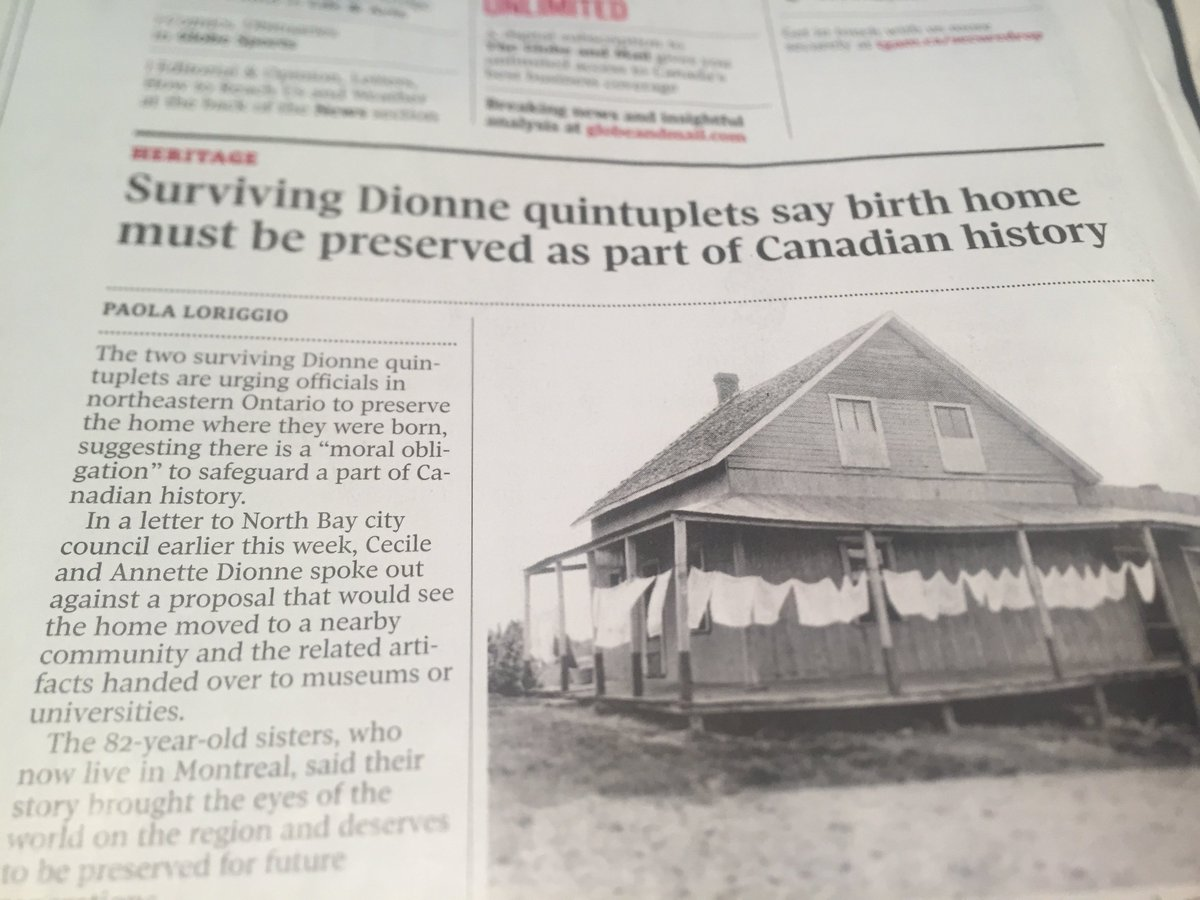 eric andrew gee on glad to see cdnpress still covering glad to see cdnpress still covering the dionne quints my great grandfather ab fulford built his cp career as their quint man ploriggiopic com