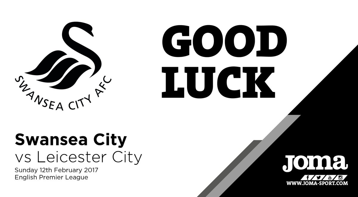 Good Luck @SwansOfficial for your @premierleague match against Leicest...