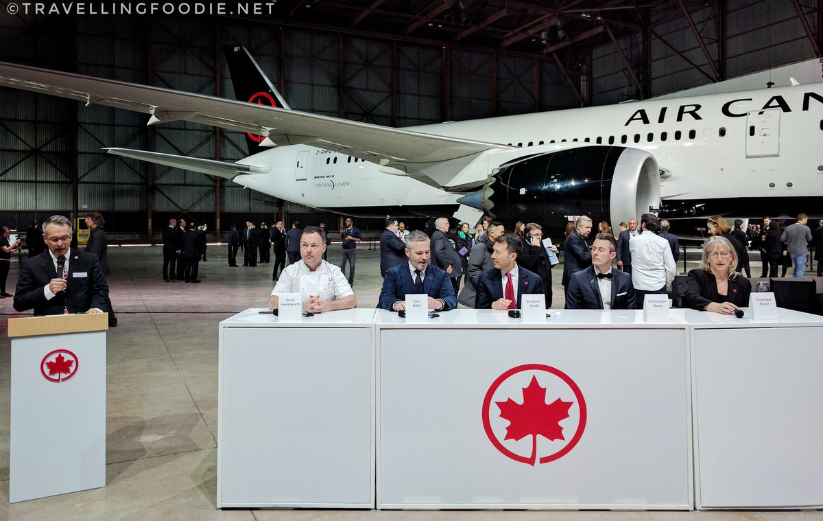 Media Q&A Session at Air Canada Unveiling new Livery Media Event