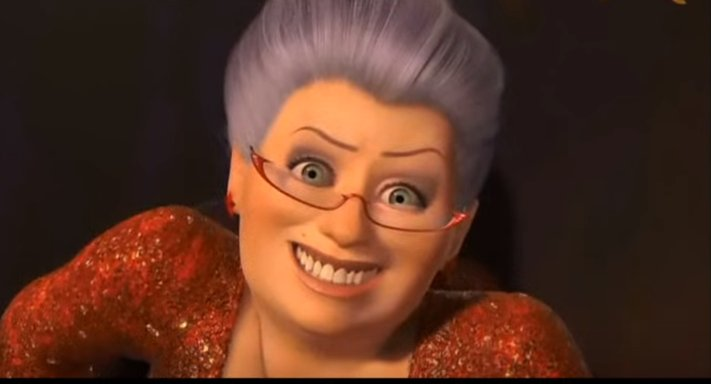 Free Britney On Twitter Rt For Fairy Godmother Shrek 2 Iconic Fav For The Almost Metahuman Fefe Smoak