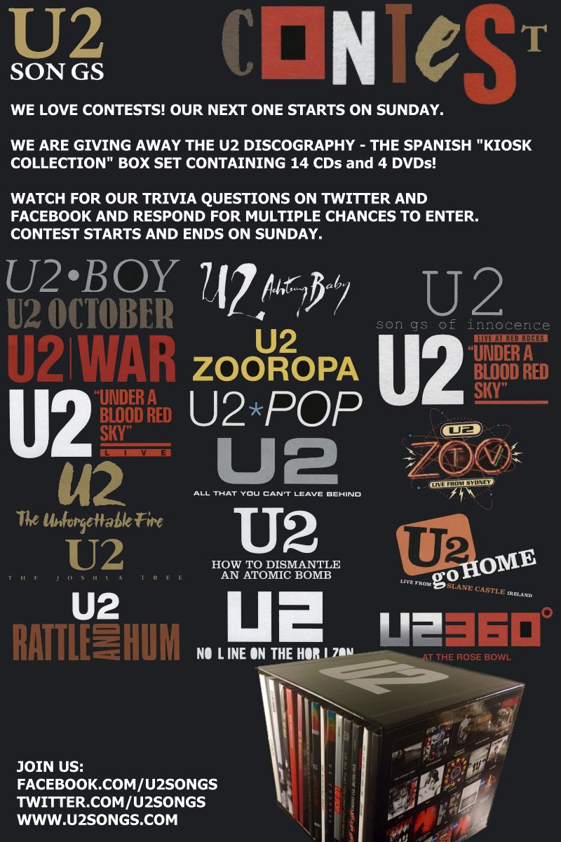 u2songs  com on Twitter: