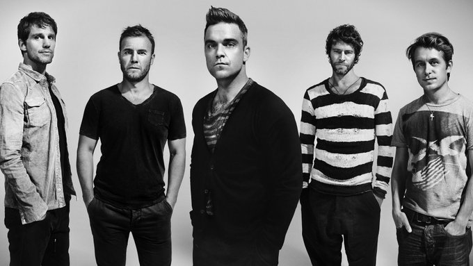 Happy birthday Robbie Williams, former member of pop group Take That, born 1974.