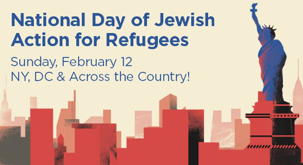 Thumbnail for National Day of Jewish Action for Refugees