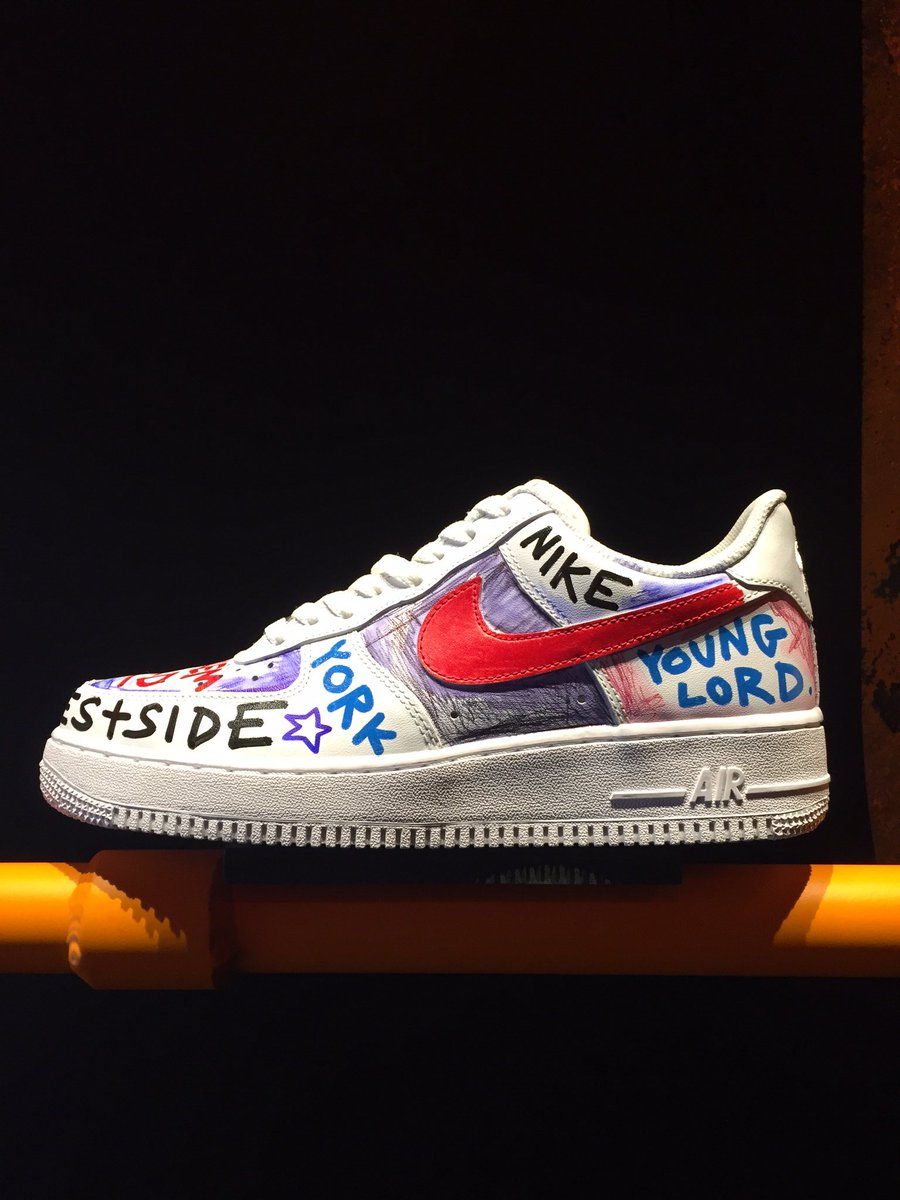6b89d3abc53 More air force 1s spotted at the vlone x nikelab pop-up ...