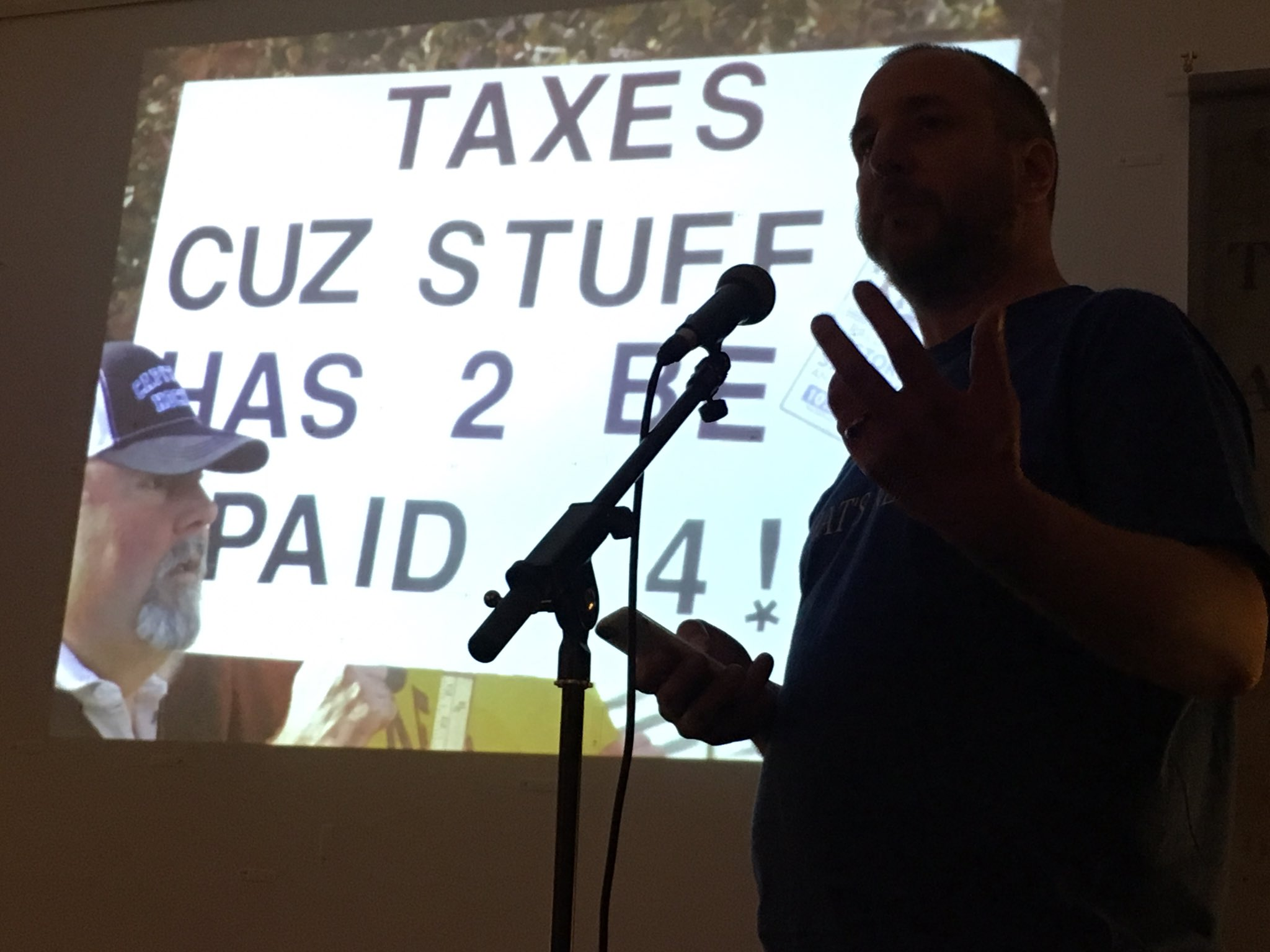 """""""Guess what? People didn't really like paying taxes."""" #Notwestminster https://t.co/N9EgmbQ7o8"""