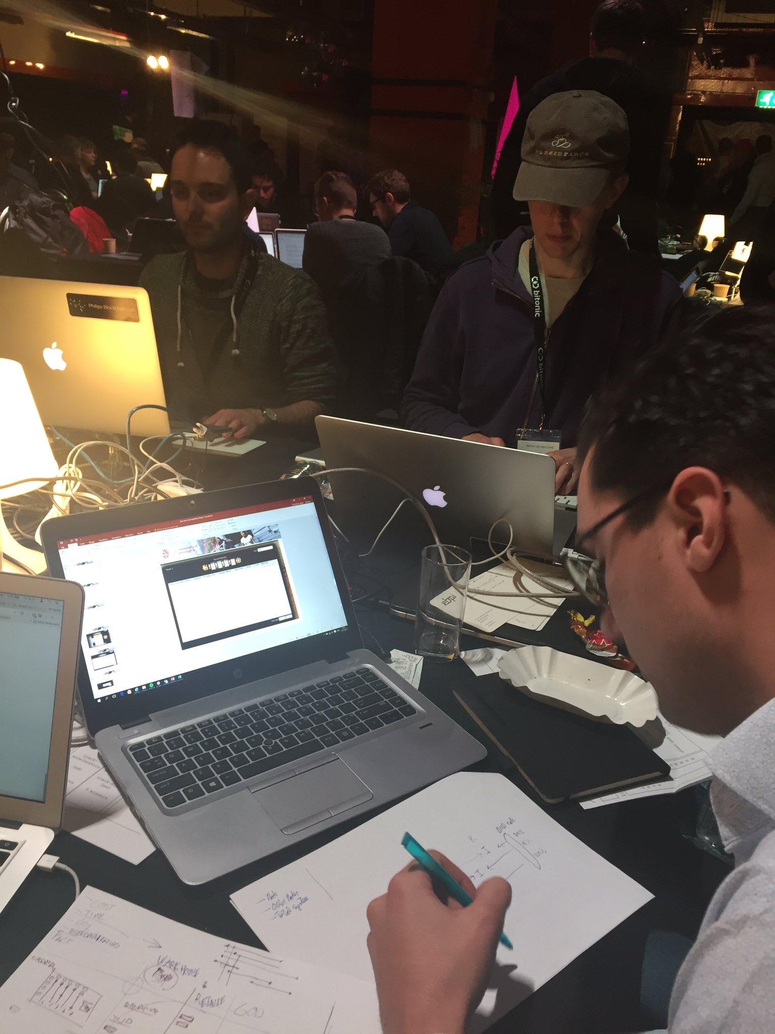 Hard working less talking #dbh17 https://t.co/bbqd4GNQyF
