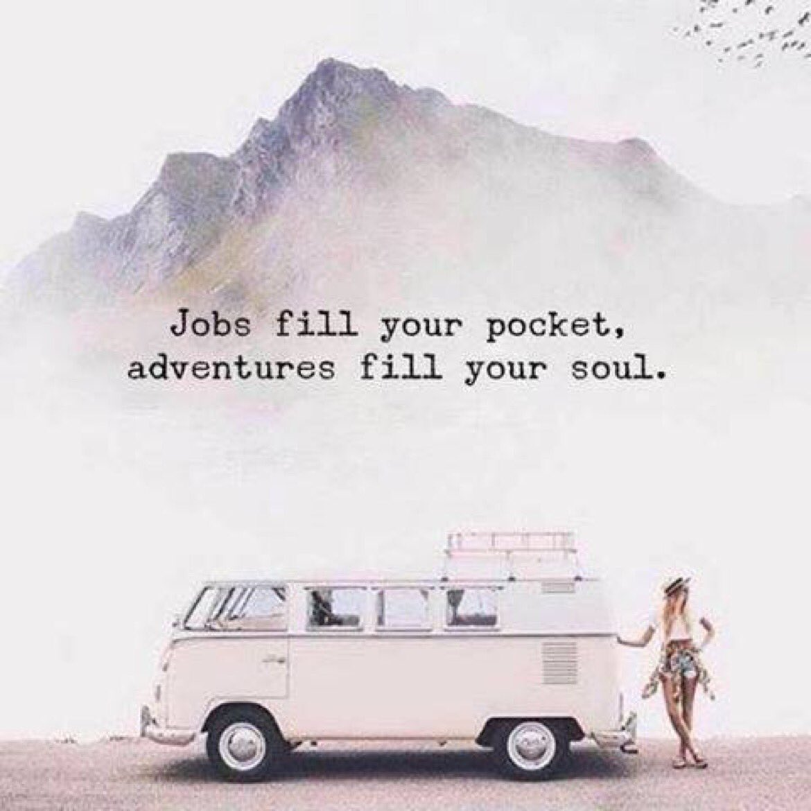 'Jobs fill your pockets........ but adventures fill your soul'. #Trave...