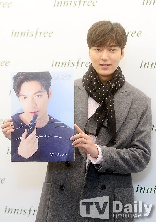 Lee Min Ho من حدث توقيع المعجبين لـ Innisfree ألوان آسيا
