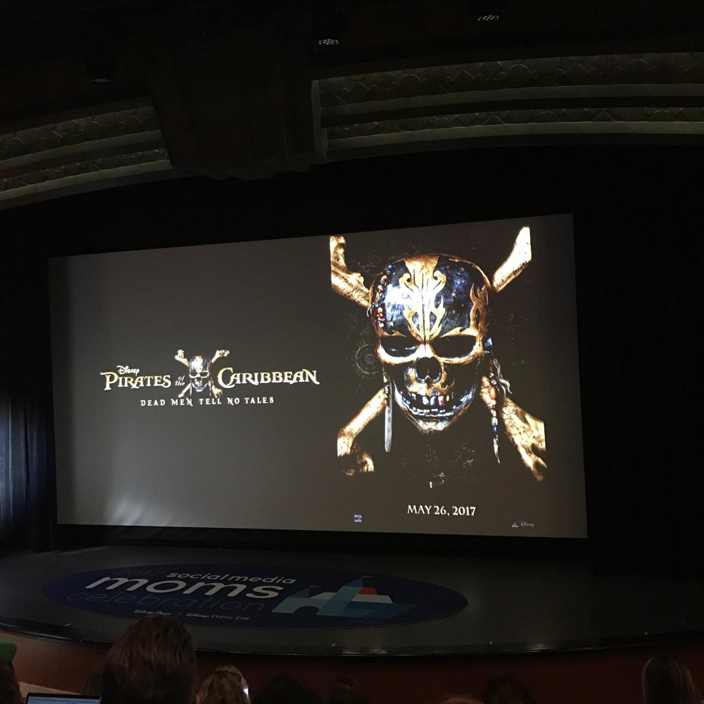 #Disneysmmc Ok the new Pirates of the Caribbean movie is going to be EPIC!  The clip we saw was hilarious!!! https://t.co/UelDfFknyB