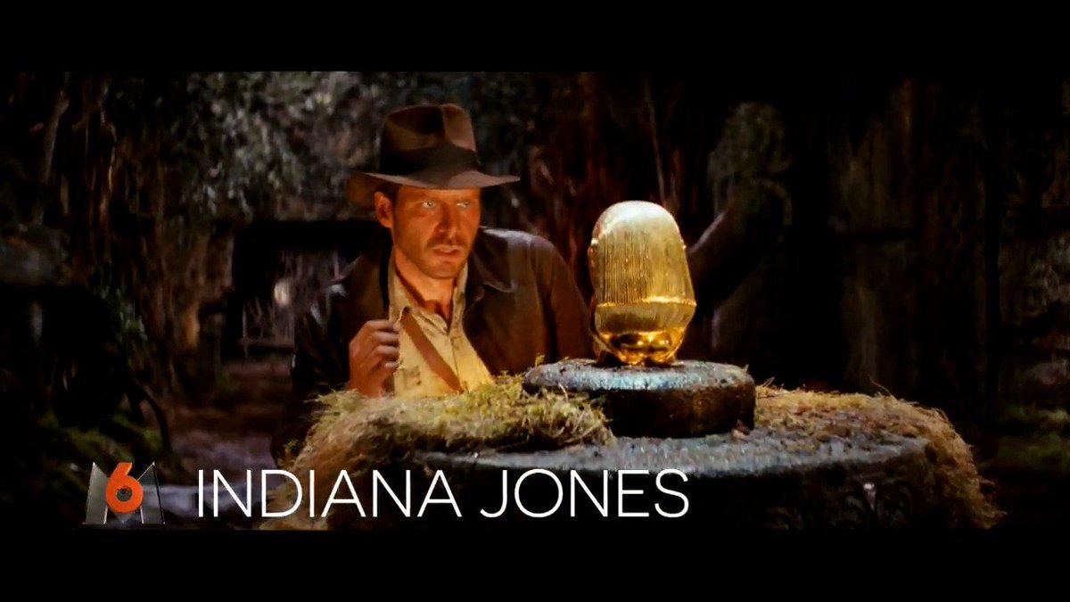 🕷🦂🐜🐍🛩 Prêts pour l'aventure ? Décollage à 21:00 sur M6 !  #IndianaJone...