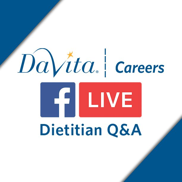 Davita careers on twitter davita careers will be hosting a live davita careers on twitter davita careers will be hosting a live qa session with one of our shining star dietitians february 22nd at 100pm est1000am sciox Gallery