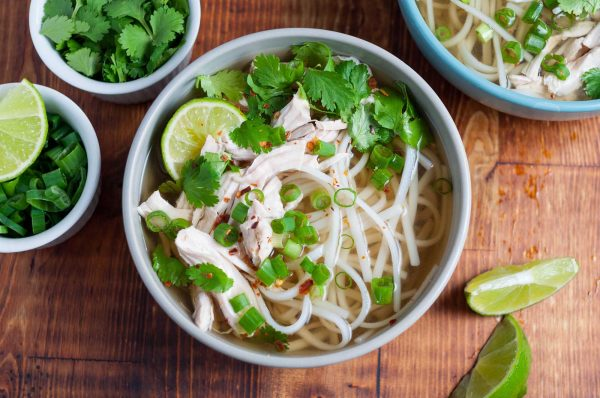 Quick Chicken Pho (Vietnamese Noodle Soup)