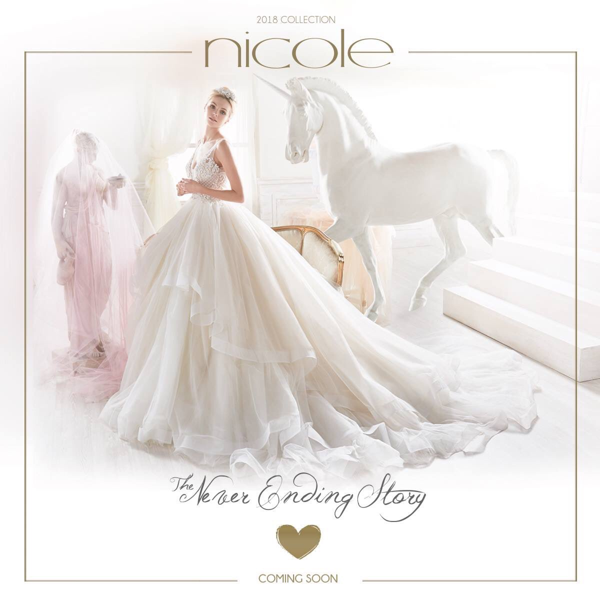 Cecile Brautmoden On Twitter Nicole Spose 2018 Coming Soon
