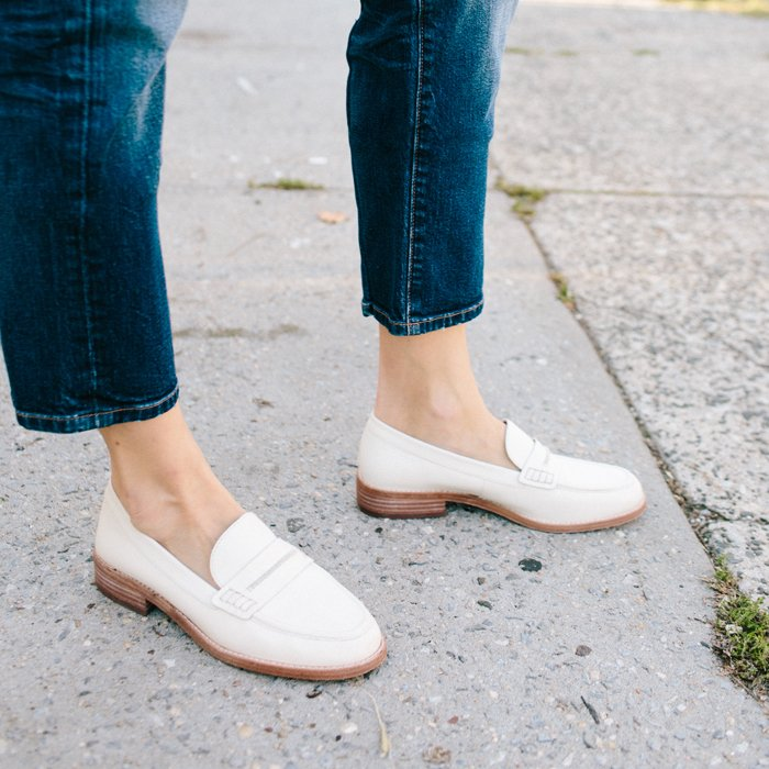 a53fb2e81db traffic stoppers our elinor loafers in winter white wellheeled