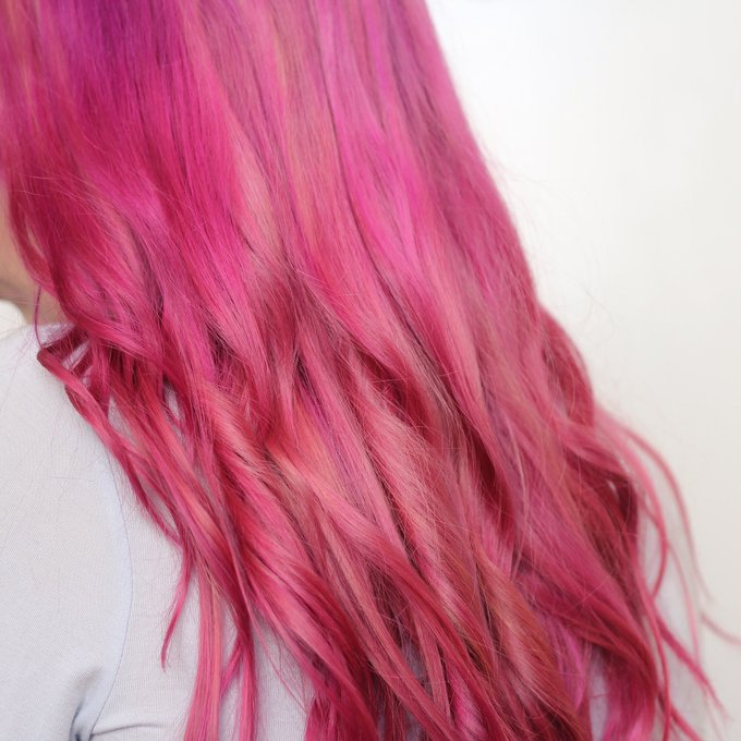 How I Got Raspberry Pink Hair At Home (And Kept It Bright!)