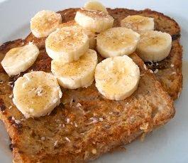 Coconut Banana French Toast