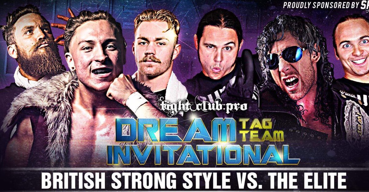 Image result for British Strong Style Fight Club Pro The Elite