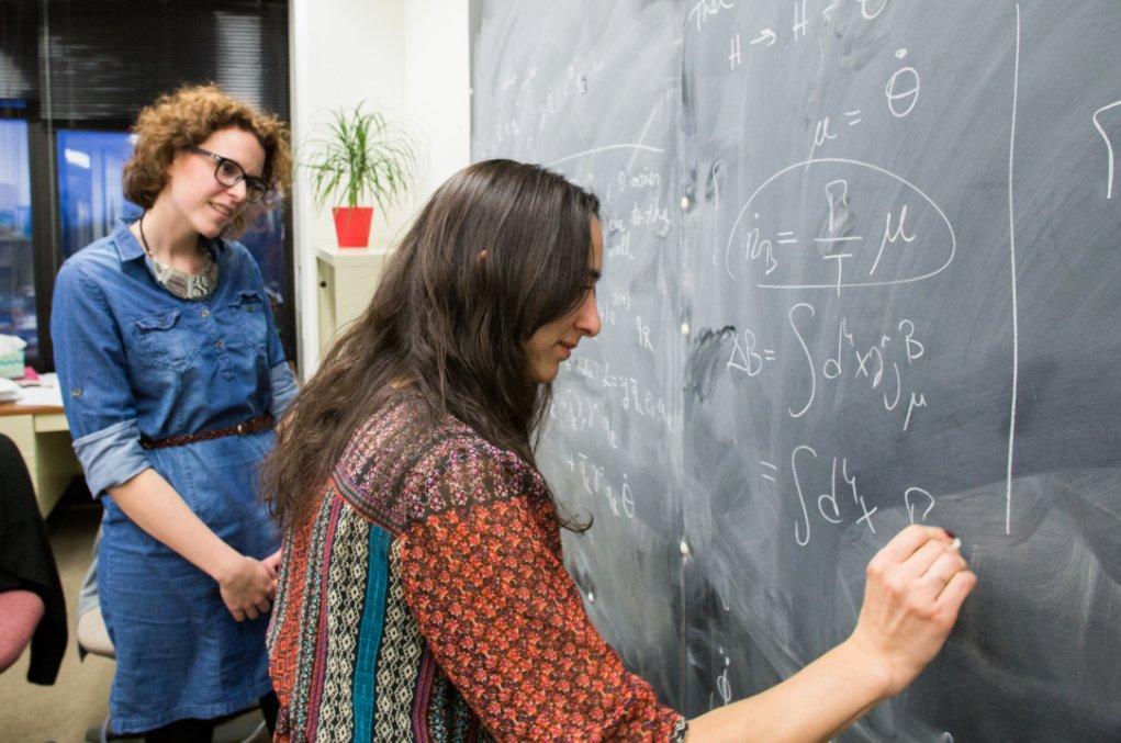 Theorists Pilar Coloma and Seyda Ipek explain what they do: https://t.co/N4A0gDWjwT #WomenInSTEM #WomenInScienceDay