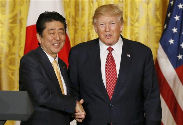 【日米首脳共同記者会見・全文(4)完】安倍晋三首相「米国が偉大な国となることは日本にも大きな利益」 …