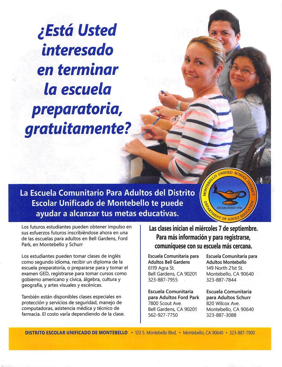 C4VYnTBUMAELDnC - Escuela De Ingles Para Adultos En Bell Gardens