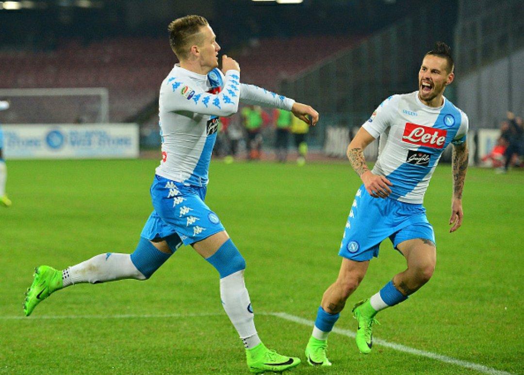 Napoli pronto per il Real Madrid: 2-0 al Genoa con Zielinski Giaccherini ed un super Mertens
