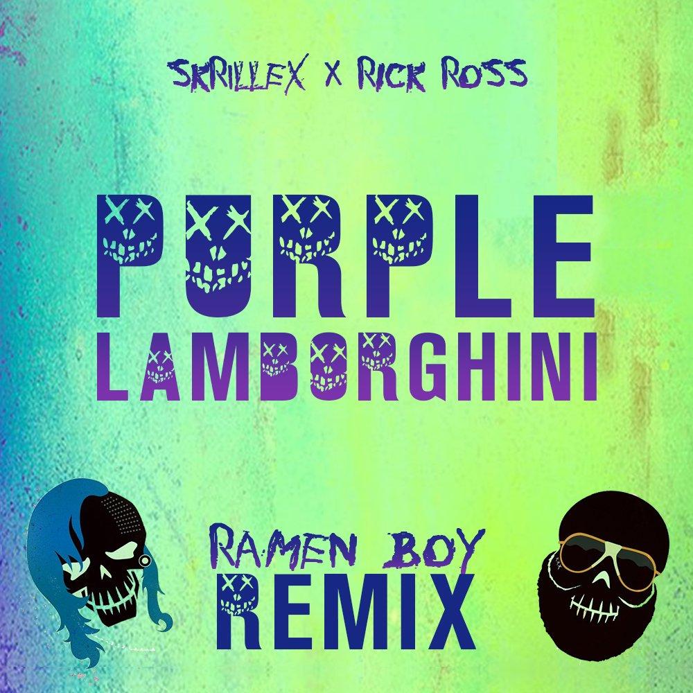 Ramen Boy On Twitter My Remix Of Purple Lamborghini Is Out Buy
