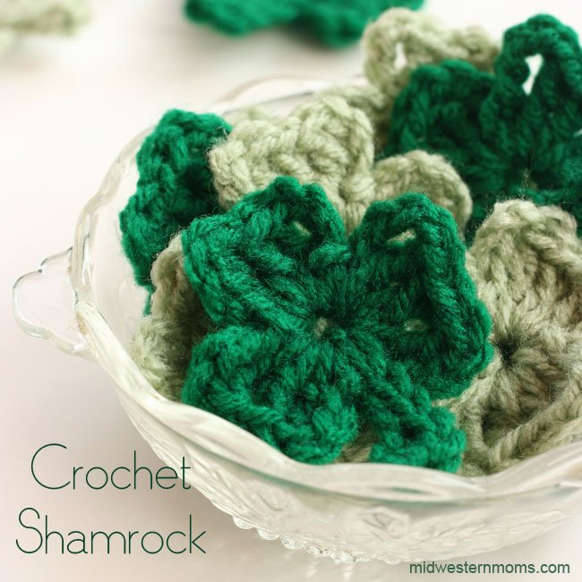 How To Crochet A Shamrock