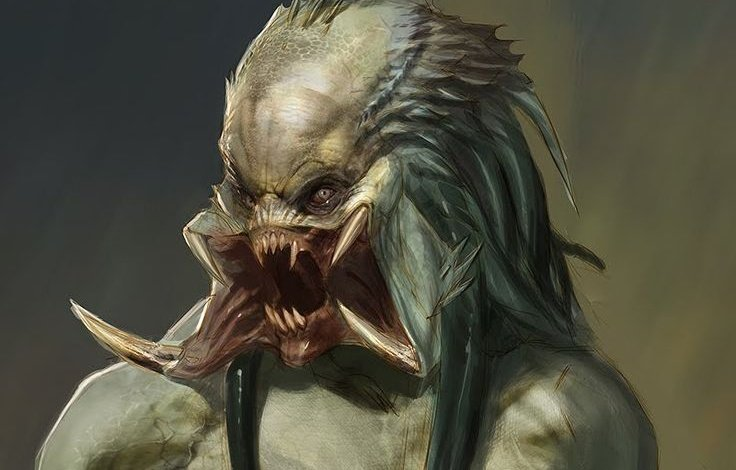 Scified's Tweet shows a Predator Concept Art