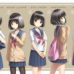 いろんなショートカットが可愛いwどの髪型が一番好き?