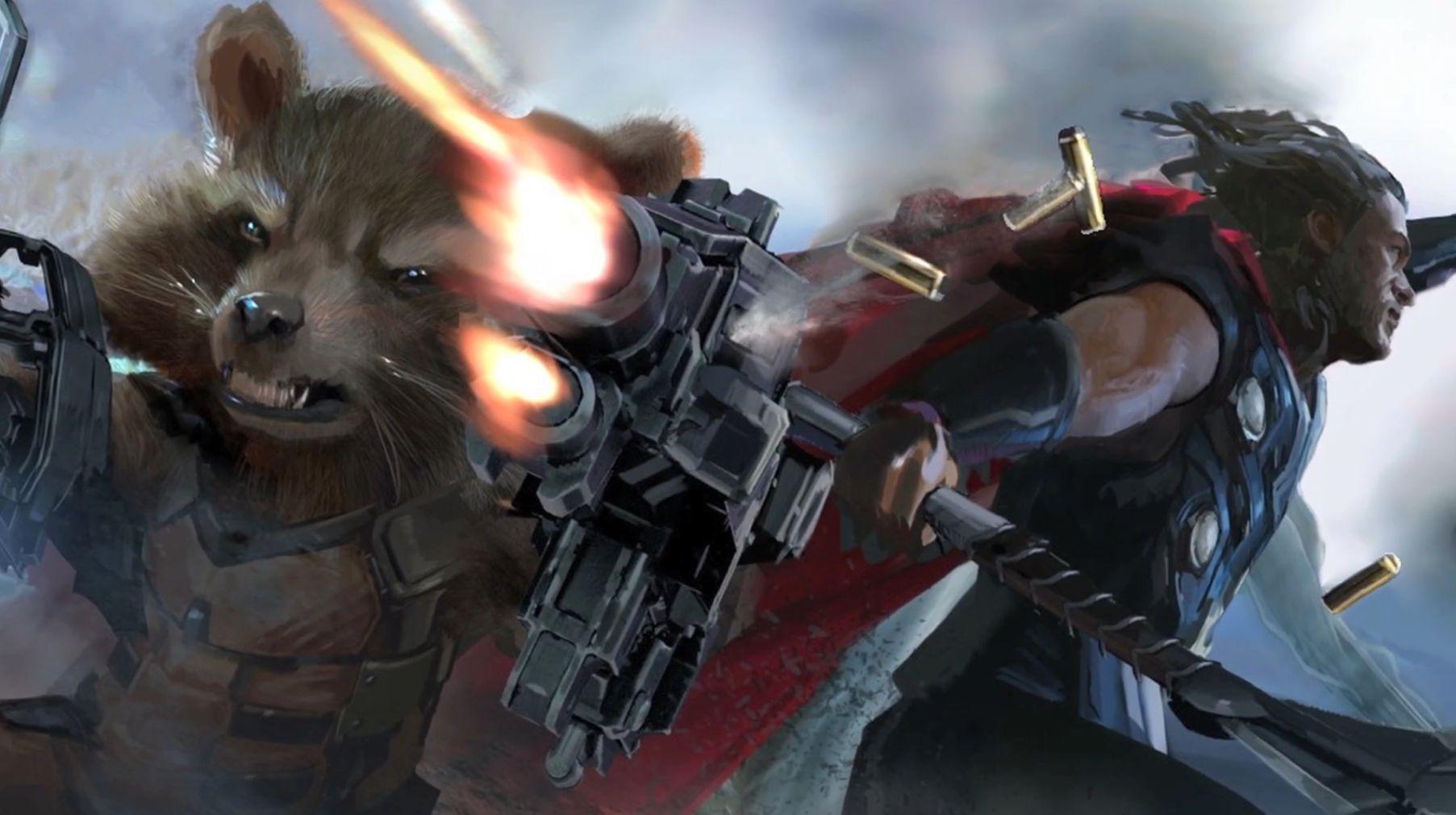 Avengers: Infinity War concept art
