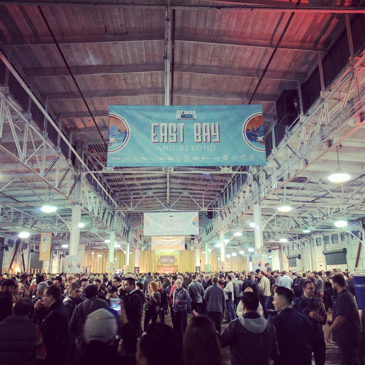 Pier 48, location of the #SFBeerWeek Opening Gala. #craftbeer https://t.co/aAyj9d9wYy
