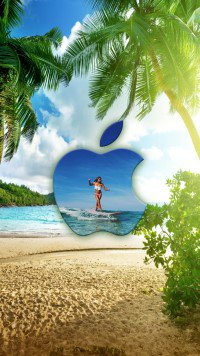 Iphone 7 Wallpapers On Twitter Surfing Hawaii Girls Is