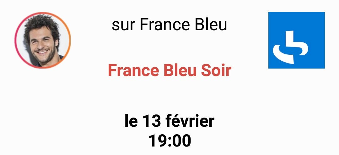 France Bleu Soir - 19h - 13 février C4X2IZzWQAAeJbR