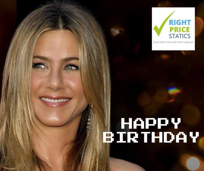 Happy Birthday - Jennifer Aniston born, 1969. Give us a shout if you would like to sell your static :)