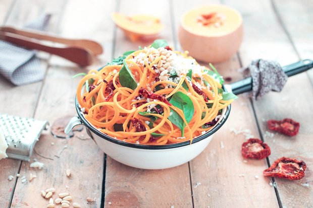 8 formas muy ricas de cocinar espaguetis de verduras los