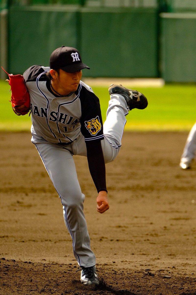 秋山投手に続き、2回をきっちり6人で抑えた岩貞投手。安定感のある投球です。 #ちばりよータイガース