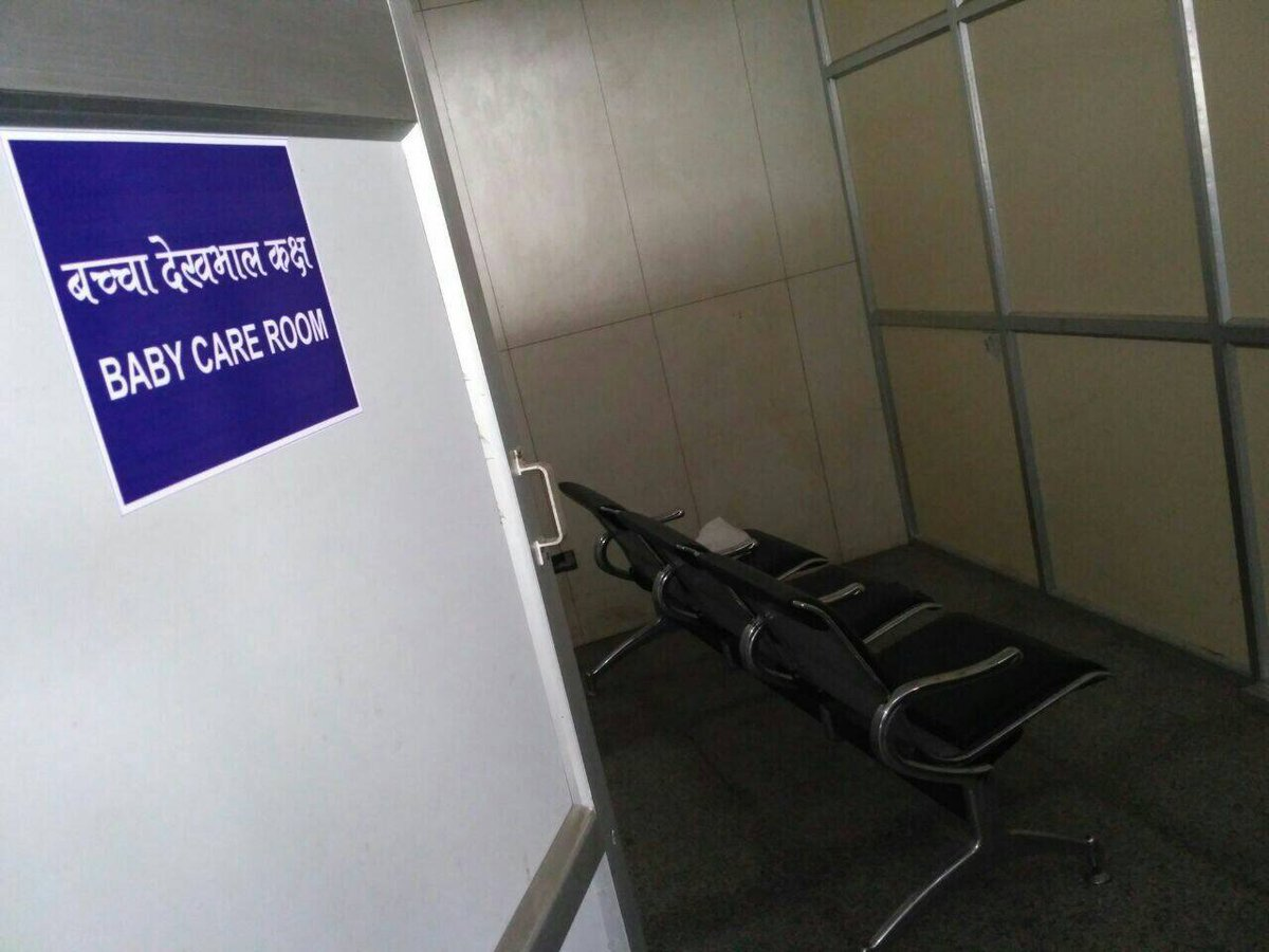 Jayant Sinha On Twitter Varanasi Airport Baby Care Room  # Renovation Bahut