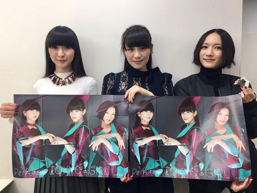 いよいよ来週15日にPerfumeのシングル「TOKYO GIRL」発売となりますが、予約特典のポス…