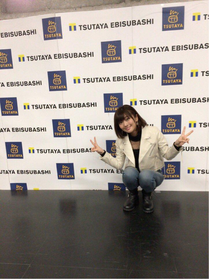 リリイベTSUTAYA EBISUBASHIさん終了です! しゃべった。うたったー。たのしかったーヽ…