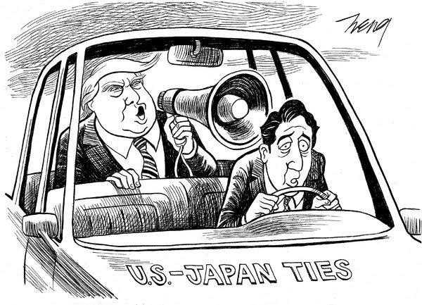 ついに運転手になっちまったか。 The New York Timesより。