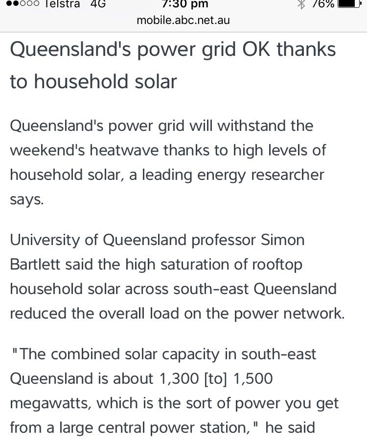 Oh look... #renewables to the rescue in Qld #heatwave... #auspol https://t.co/ovL74XQNLq