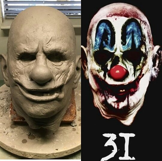 Rob Zombie Halloween Clown Mask.3 From Hell On Twitter Trickortreat831 Is Working On A
